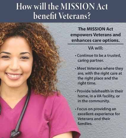 MISSION Act Benefits Flier